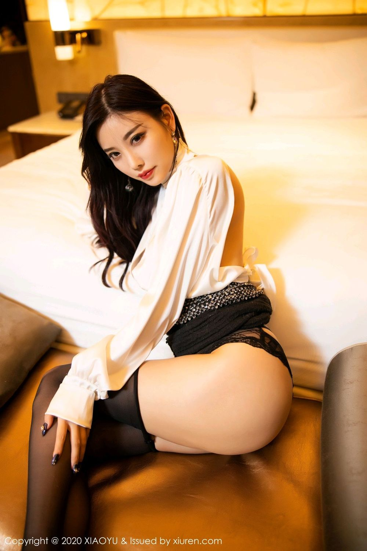 [XiaoYu] Vol.282 Yang Chen Chen 51P, Black Silk, XiaoYu, Yang Chen Chen