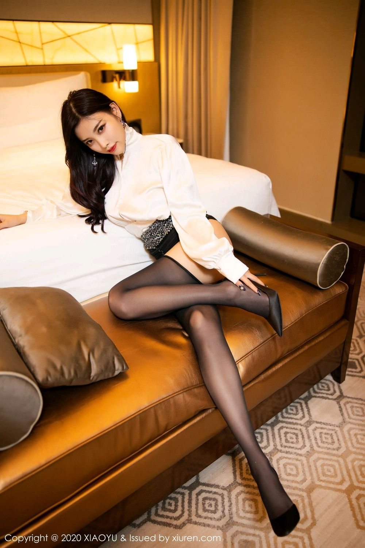 [XiaoYu] Vol.282 Yang Chen Chen 54P, Black Silk, XiaoYu, Yang Chen Chen