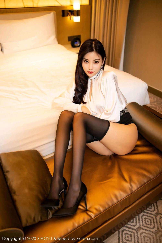 [XiaoYu] Vol.282 Yang Chen Chen 57P, Black Silk, XiaoYu, Yang Chen Chen