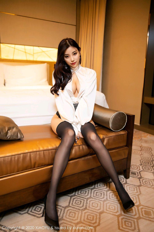 [XiaoYu] Vol.282 Yang Chen Chen 58P, Black Silk, XiaoYu, Yang Chen Chen