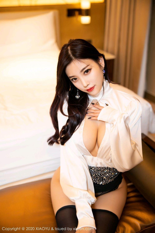 [XiaoYu] Vol.282 Yang Chen Chen 63P, Black Silk, XiaoYu, Yang Chen Chen