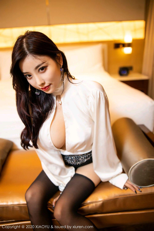 [XiaoYu] Vol.282 Yang Chen Chen 66P, Black Silk, XiaoYu, Yang Chen Chen