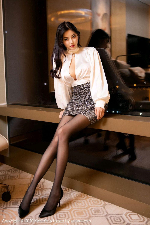 [XiaoYu] Vol.282 Yang Chen Chen 6P, Black Silk, XiaoYu, Yang Chen Chen