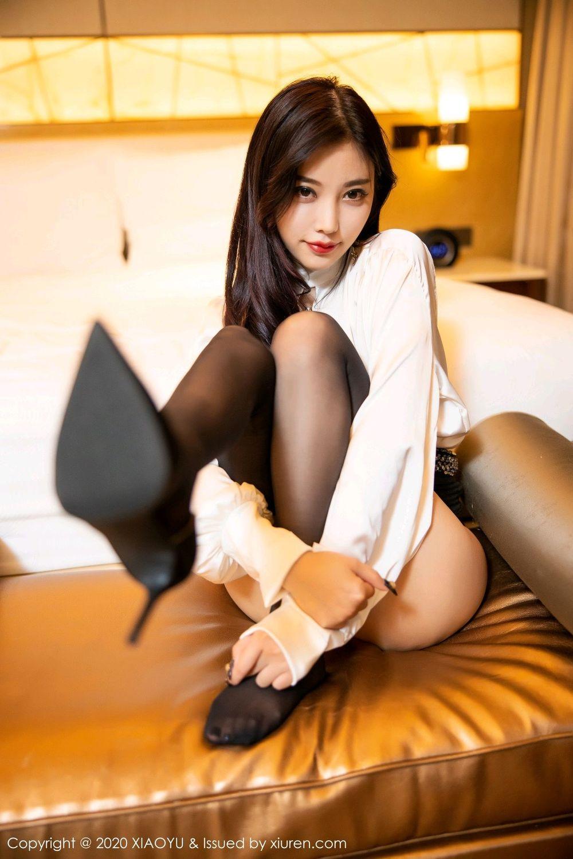 [XiaoYu] Vol.282 Yang Chen Chen 70P, Black Silk, XiaoYu, Yang Chen Chen