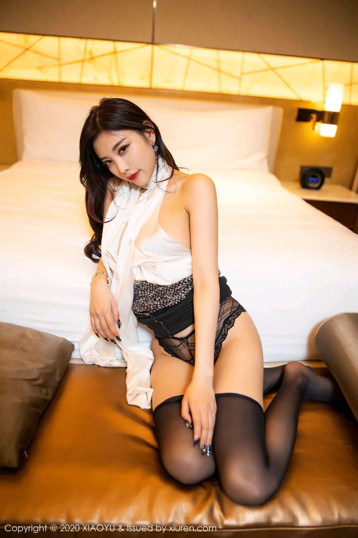 [XiaoYu] Vol.282 Yang Chen Chen 87P, Black Silk, XiaoYu, Yang Chen Chen