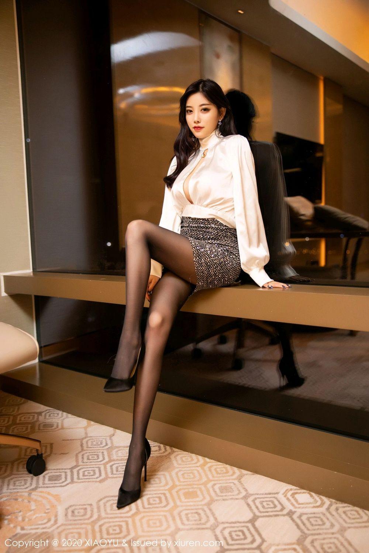 [XiaoYu] Vol.282 Yang Chen Chen 8P, Black Silk, XiaoYu, Yang Chen Chen