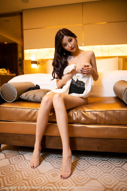 [XiaoYu] Vol.282 Yang Chen Chen 99P, Black Silk, XiaoYu, Yang Chen Chen