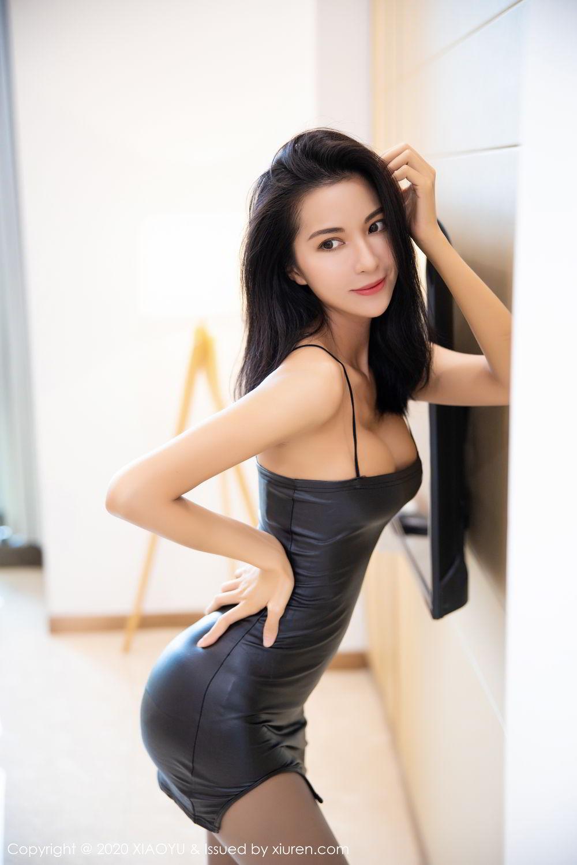 [XiaoYu] Vol.283 Carry 12P, Black Silk, Chen Liang Ling, Tall, Temperament, XiaoYu