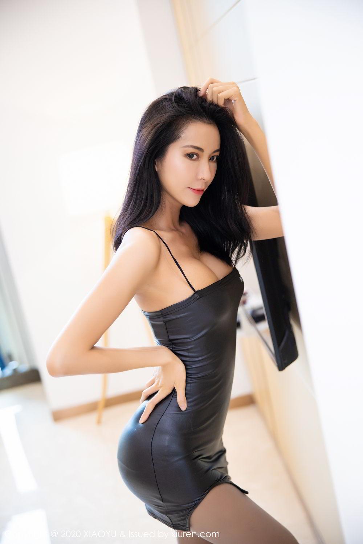 [XiaoYu] Vol.283 Carry 13P, Black Silk, Chen Liang Ling, Tall, Temperament, XiaoYu