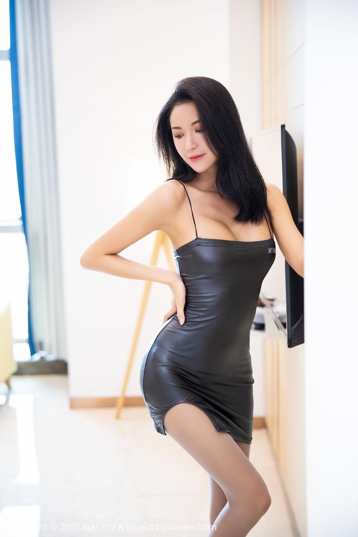 [XiaoYu] Vol.283 Carry 14P, Black Silk, Chen Liang Ling, Tall, Temperament, XiaoYu