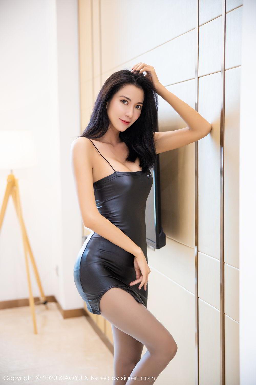 [XiaoYu] Vol.283 Carry 15P, Black Silk, Chen Liang Ling, Tall, Temperament, XiaoYu