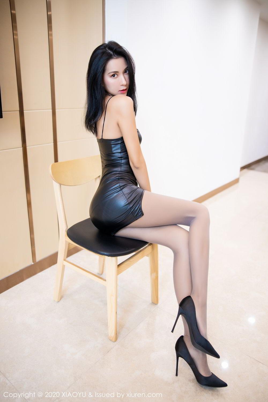[XiaoYu] Vol.283 Carry 21P, Black Silk, Chen Liang Ling, Tall, Temperament, XiaoYu