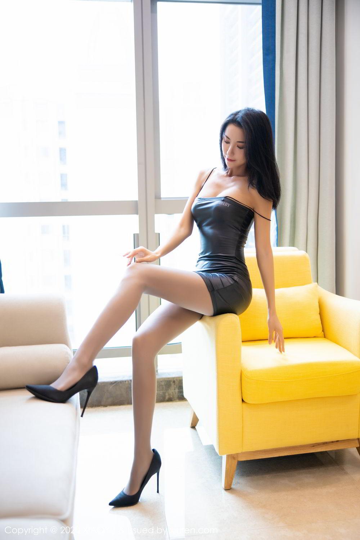 [XiaoYu] Vol.283 Carry 23P, Black Silk, Chen Liang Ling, Tall, Temperament, XiaoYu