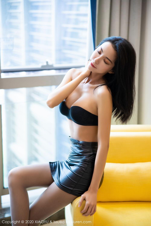 [XiaoYu] Vol.283 Carry 26P, Black Silk, Chen Liang Ling, Tall, Temperament, XiaoYu