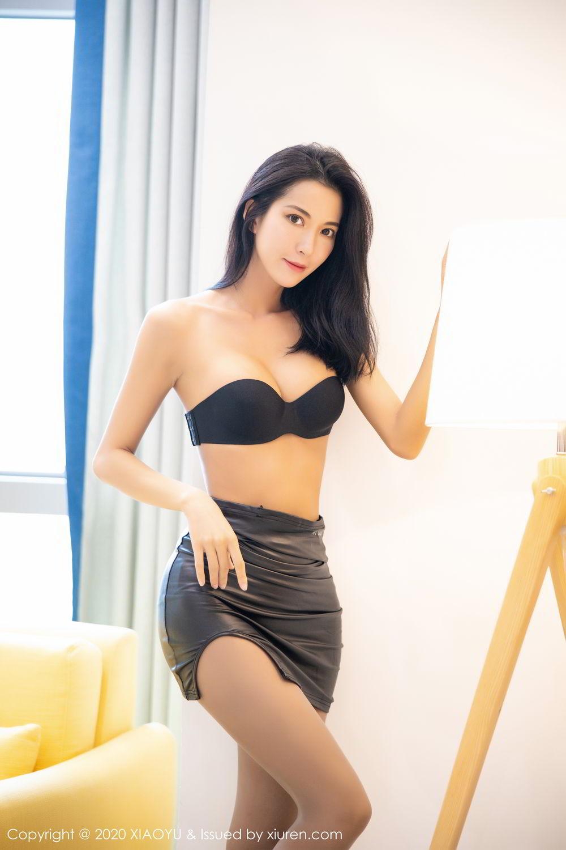 [XiaoYu] Vol.283 Carry 29P, Black Silk, Chen Liang Ling, Tall, Temperament, XiaoYu