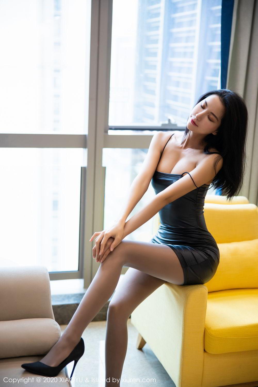 [XiaoYu] Vol.283 Carry 2P, Black Silk, Chen Liang Ling, Tall, Temperament, XiaoYu
