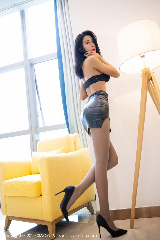 [XiaoYu] Vol.283 Carry 32P, Black Silk, Chen Liang Ling, Tall, Temperament, XiaoYu