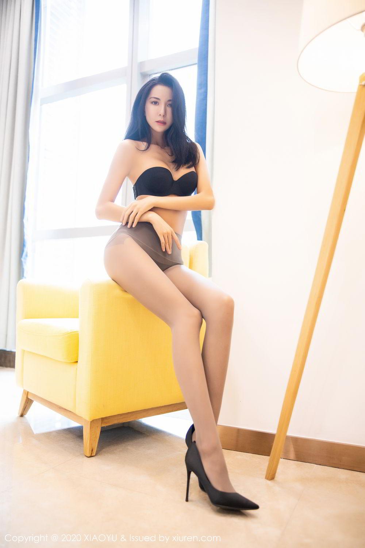 [XiaoYu] Vol.283 Carry 36P, Black Silk, Chen Liang Ling, Tall, Temperament, XiaoYu