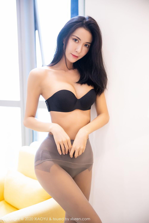 [XiaoYu] Vol.283 Carry 37P, Black Silk, Chen Liang Ling, Tall, Temperament, XiaoYu