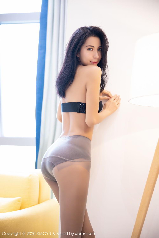 [XiaoYu] Vol.283 Carry 38P, Black Silk, Chen Liang Ling, Tall, Temperament, XiaoYu