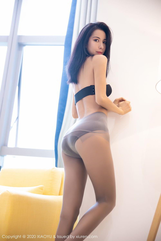 [XiaoYu] Vol.283 Carry 40P, Black Silk, Chen Liang Ling, Tall, Temperament, XiaoYu