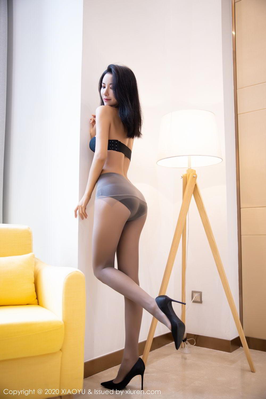 [XiaoYu] Vol.283 Carry 41P, Black Silk, Chen Liang Ling, Tall, Temperament, XiaoYu