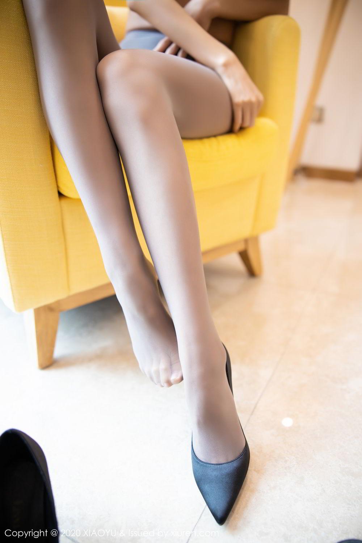 [XiaoYu] Vol.283 Carry 44P, Black Silk, Chen Liang Ling, Tall, Temperament, XiaoYu