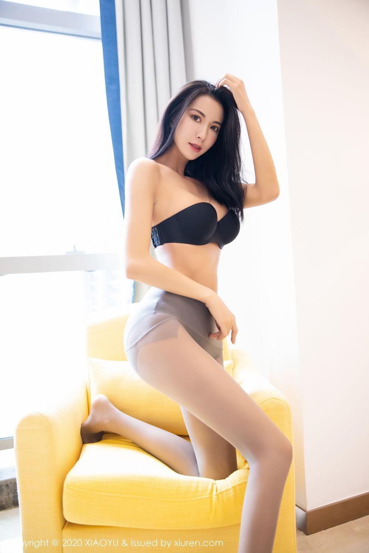 [XiaoYu] Vol.283 Carry 54P, Black Silk, Chen Liang Ling, Tall, Temperament, XiaoYu
