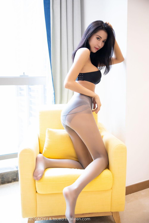 [XiaoYu] Vol.283 Carry 55P, Black Silk, Chen Liang Ling, Tall, Temperament, XiaoYu