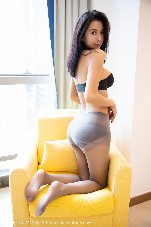 [XiaoYu] Vol.283 Carry 59P, Black Silk, Chen Liang Ling, Tall, Temperament, XiaoYu