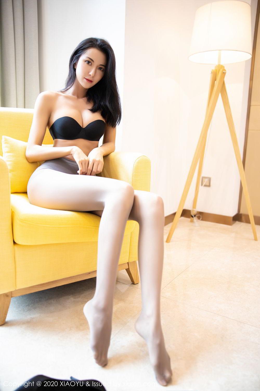 [XiaoYu] Vol.283 Carry 62P, Black Silk, Chen Liang Ling, Tall, Temperament, XiaoYu