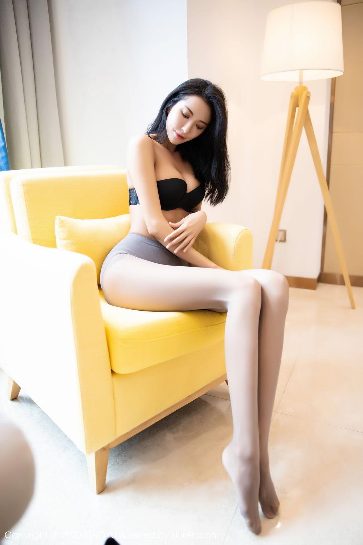[XiaoYu] Vol.283 Carry 63P, Black Silk, Chen Liang Ling, Tall, Temperament, XiaoYu