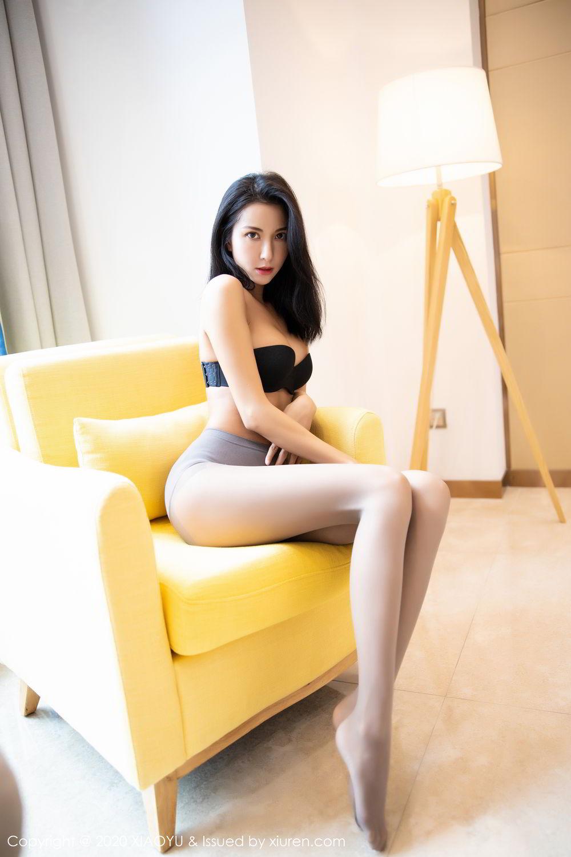 [XiaoYu] Vol.283 Carry 66P, Black Silk, Chen Liang Ling, Tall, Temperament, XiaoYu