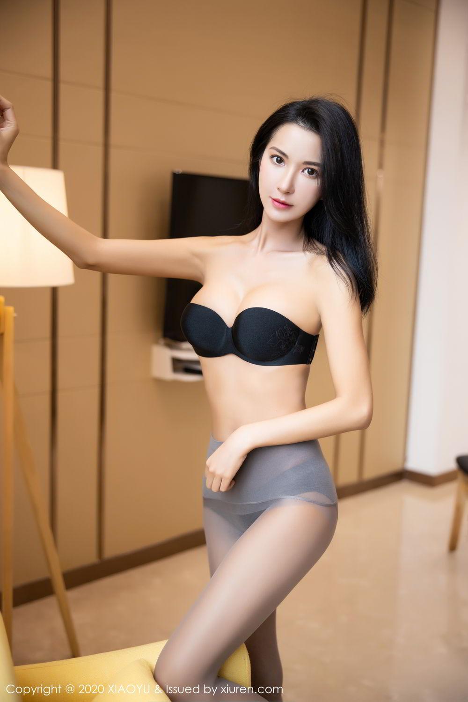 [XiaoYu] Vol.283 Carry 67P, Black Silk, Chen Liang Ling, Tall, Temperament, XiaoYu
