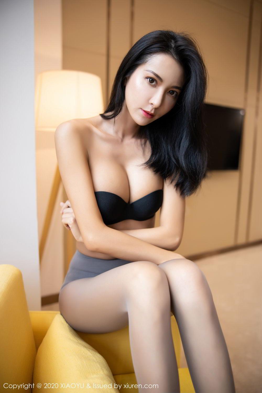 [XiaoYu] Vol.283 Carry 69P, Black Silk, Chen Liang Ling, Tall, Temperament, XiaoYu