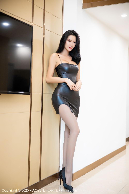 [XiaoYu] Vol.283 Carry 6P, Black Silk, Chen Liang Ling, Tall, Temperament, XiaoYu