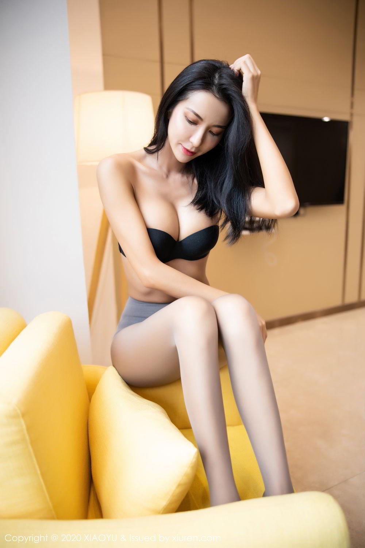 [XiaoYu] Vol.283 Carry 70P, Black Silk, Chen Liang Ling, Tall, Temperament, XiaoYu