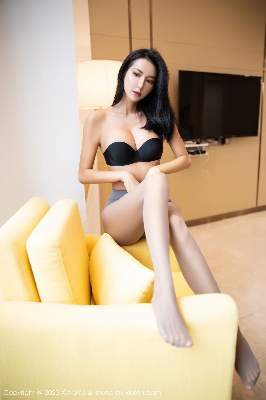[XiaoYu] Vol.283 Carry 74P, Black Silk, Chen Liang Ling, Tall, Temperament, XiaoYu