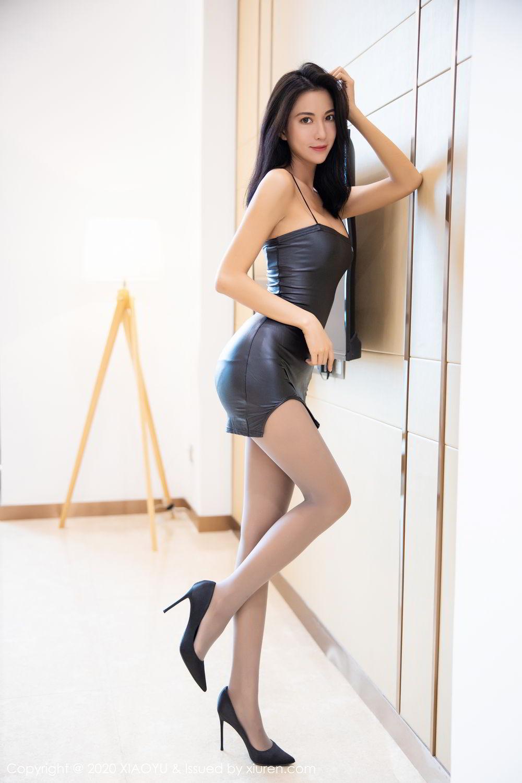 [XiaoYu] Vol.283 Carry 8P, Black Silk, Chen Liang Ling, Tall, Temperament, XiaoYu