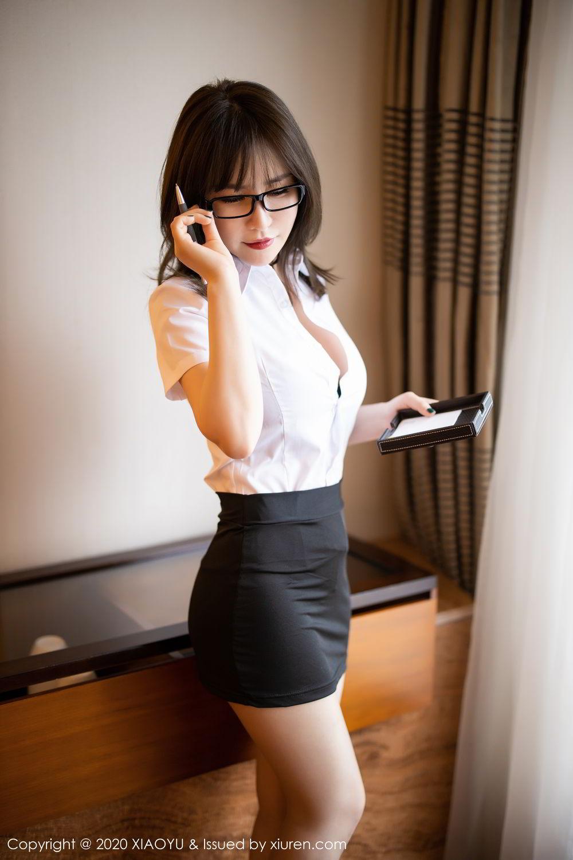 [XiaoYu] Vol.288 Xia Xiao Ya 11P, Underwear, Uniform, Xia Xi Zi, XiaoYu