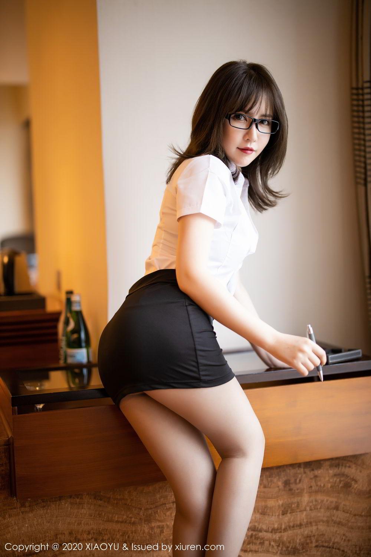 [XiaoYu] Vol.288 Xia Xiao Ya 12P, Underwear, Uniform, Xia Xi Zi, XiaoYu