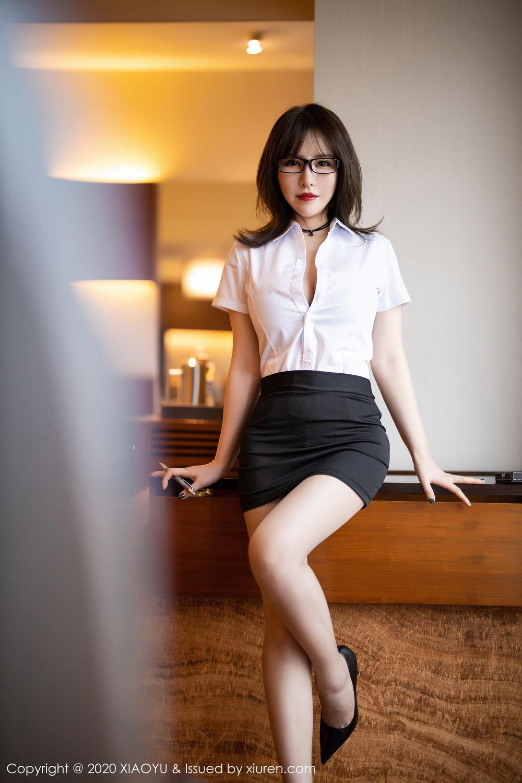 [XiaoYu] Vol.288 Xia Xiao Ya 14P, Underwear, Uniform, Xia Xi Zi, XiaoYu
