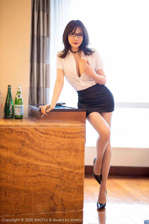 [XiaoYu] Vol.288 Xia Xiao Ya 16P, Underwear, Uniform, Xia Xi Zi, XiaoYu