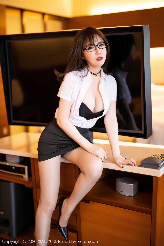 [XiaoYu] Vol.288 Xia Xiao Ya 18P, Underwear, Uniform, Xia Xi Zi, XiaoYu
