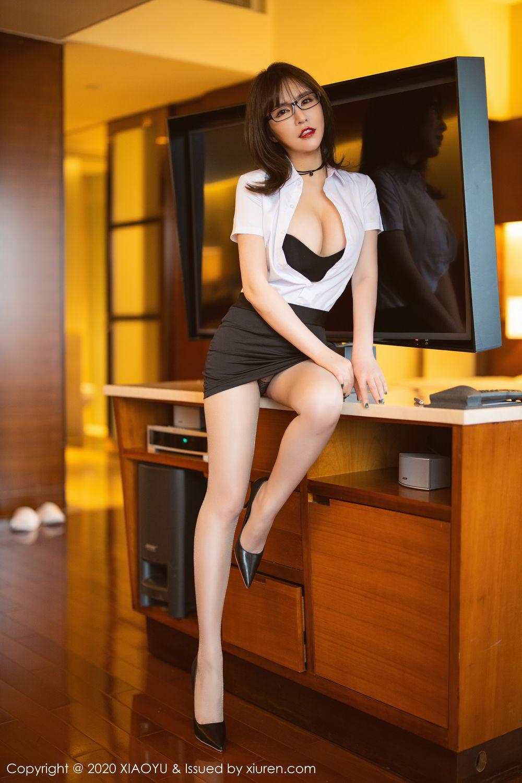 [XiaoYu] Vol.288 Xia Xiao Ya 20P, Underwear, Uniform, Xia Xi Zi, XiaoYu