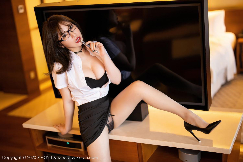 [XiaoYu] Vol.288 Xia Xiao Ya 24P, Underwear, Uniform, Xia Xi Zi, XiaoYu