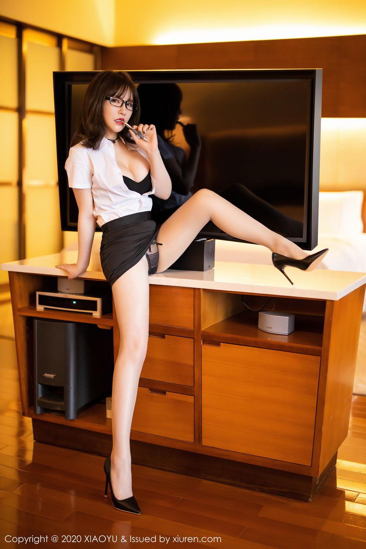 [XiaoYu] Vol.288 Xia Xiao Ya 26P, Underwear, Uniform, Xia Xi Zi, XiaoYu