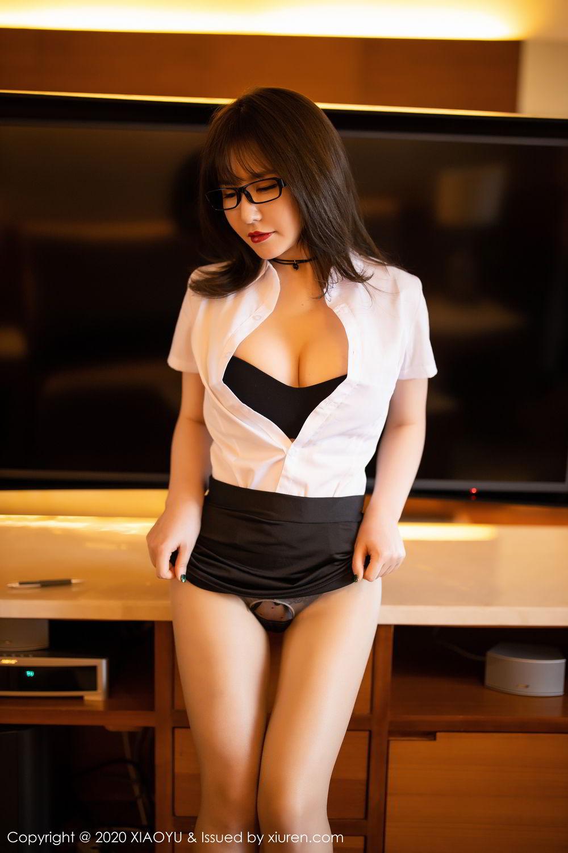 [XiaoYu] Vol.288 Xia Xiao Ya 28P, Underwear, Uniform, Xia Xi Zi, XiaoYu