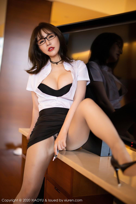 [XiaoYu] Vol.288 Xia Xiao Ya 2P, Underwear, Uniform, Xia Xi Zi, XiaoYu