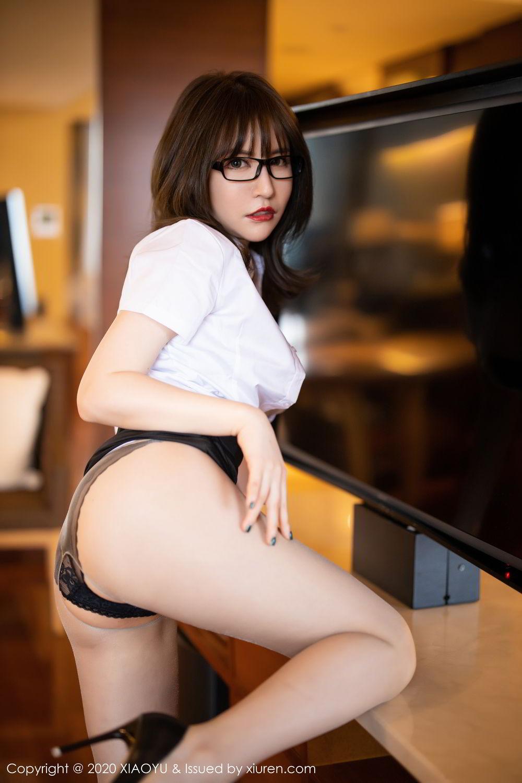 [XiaoYu] Vol.288 Xia Xiao Ya 3P, Underwear, Uniform, Xia Xi Zi, XiaoYu